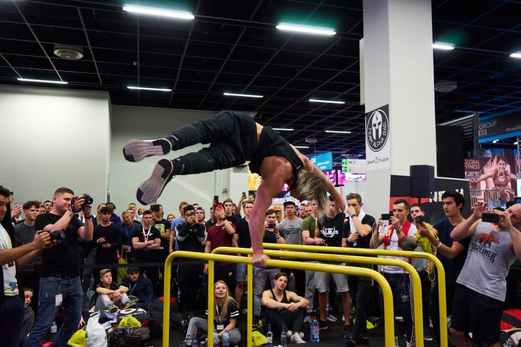World of Barheroes Daniels Laizans Freestyle Calisthenics Fibo